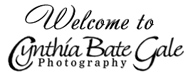 Welcome to Cynthia Bate Gale Photography